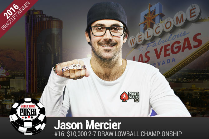 WSOP 2016: Jason Mercier