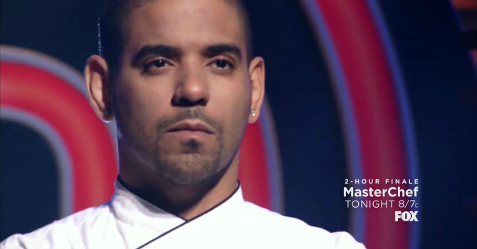 David williams 39 runner up 39 a masterchef il poker pro si for Masterchef gioco