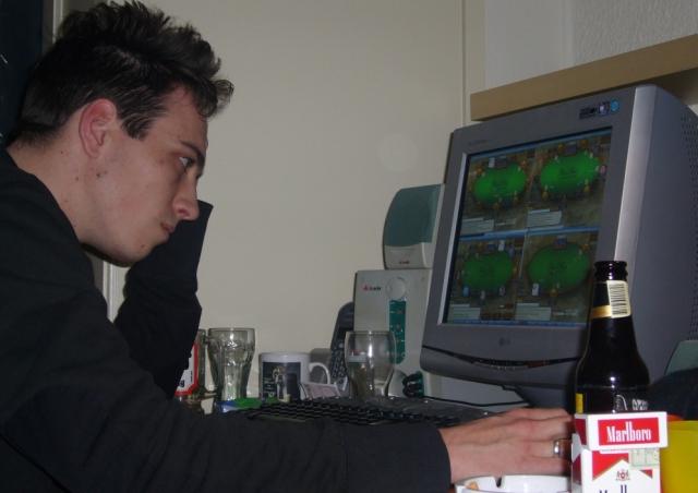 Lex Veldhuis agli inizi della sua carriera
