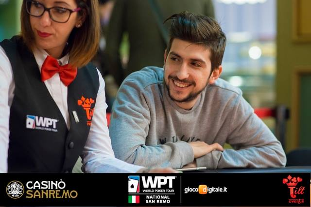 Luigi Curcio, qua al WPTn di Venezia (courtesy WPT/Tilt Events)