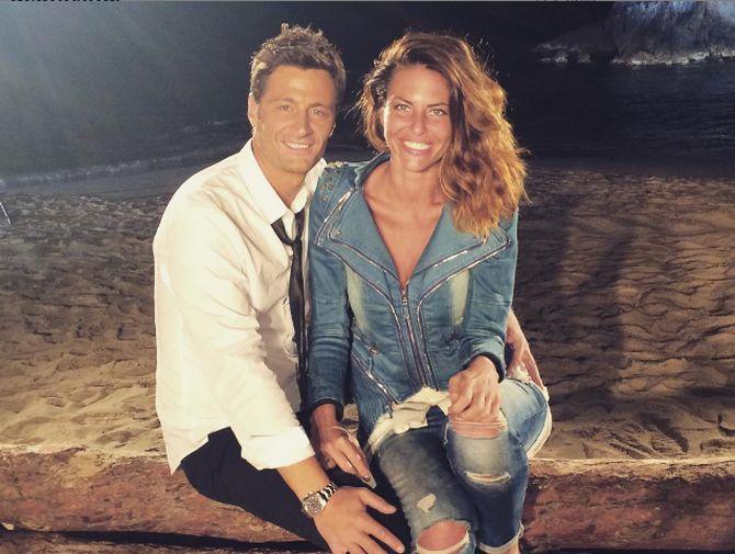 Pamela con Filippo Bisciglia