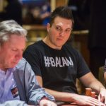 Doug Polk, qua impegnato nel WPT Five Diamond contro Mike Sexton