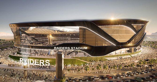 Così apparirebbe il futuro stadio dei Las Vegas Raiders