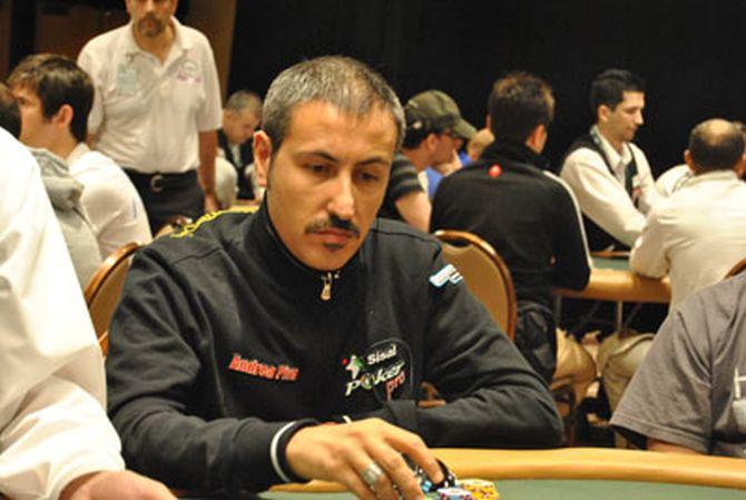Andrea qui alle WSOP 2010, al tempo in cui era pro di Sisal Poker