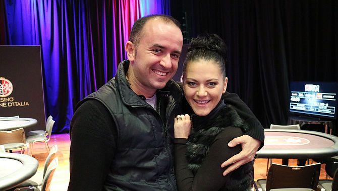 Alessandro De Michele con la moglie Nicol, a sua volta vincitrice di un IPO