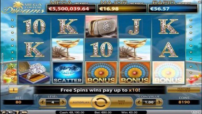euro online casino mega fortune