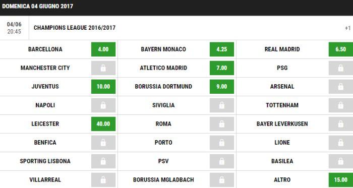 champions-league-quota-juve-lottomatica-dopo-il-sorteggio