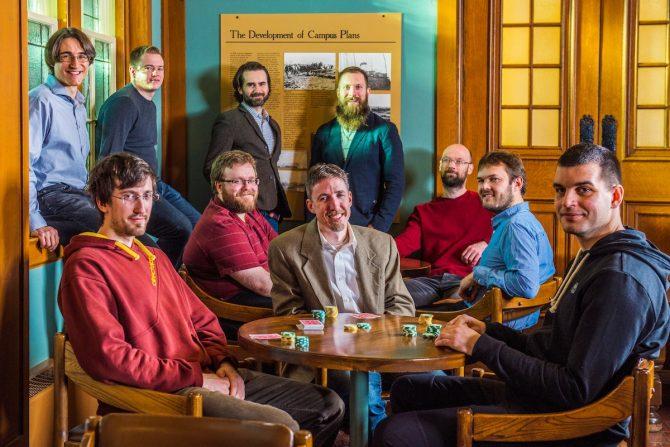 Il team di sviluppo dell'Università dell'Alberta