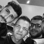 Andrea Crobu, qua con Luigi Curcio, Antonio Bernaudo e Davide Marchi