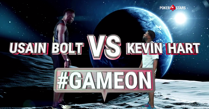 Usain Bolt Kevin Hart Gameon Challenge