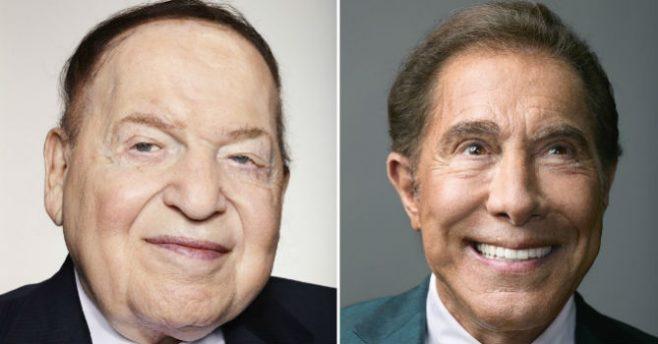 Sheldon Adelson e Steve Wynn