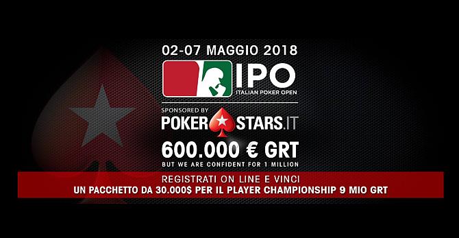 Classifica torneo poker ipo campione