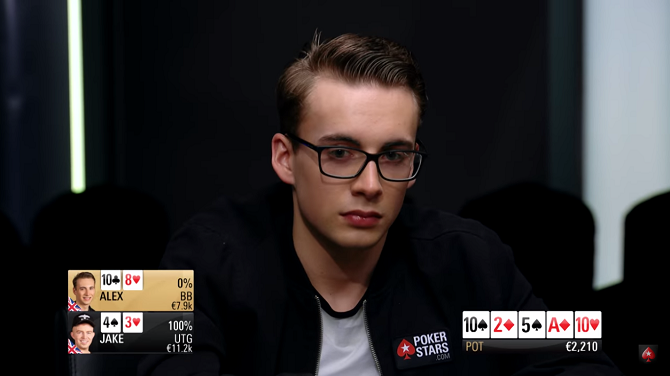 PokerStars Cash Challenge Alex Currie