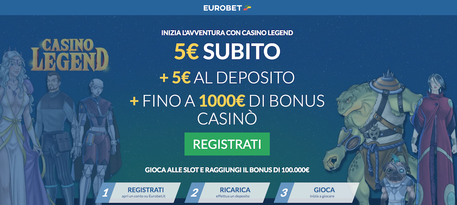 Casino Legend di Eurobet