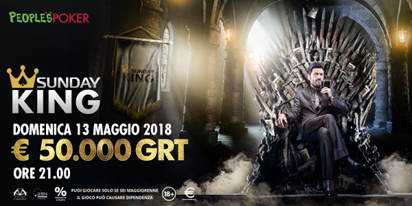 Sunday King da 50mila Euro