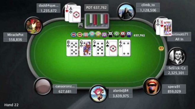 Strategia tornei poker online