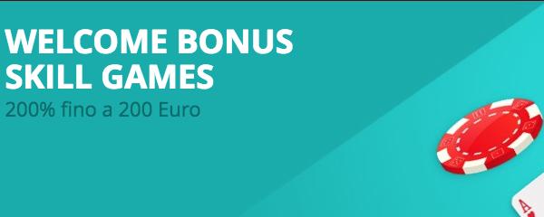 Welcome Bonus Skill Games