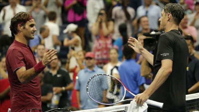 Roger Federer vs John Millman