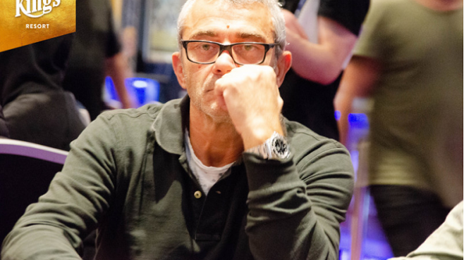 WSOP Europe Francesco Delfoco