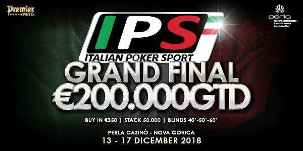 Grand Final Italian Poker Sport