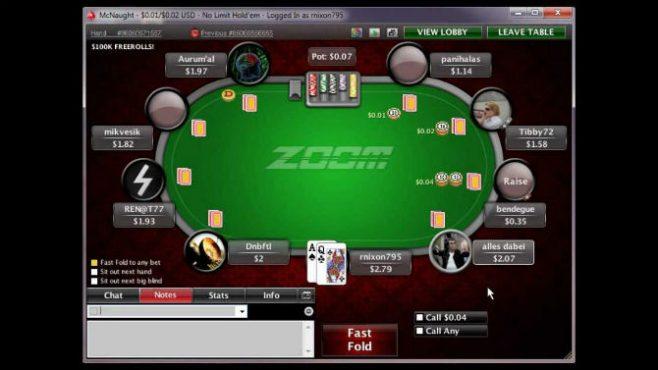 Strategia Zoom Poker