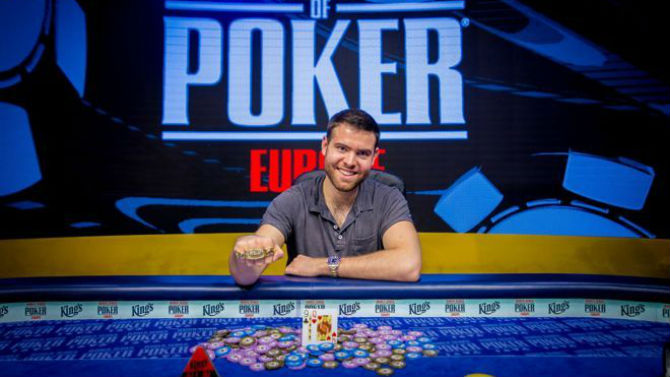 WSOPE Main Event Jack Sinclair