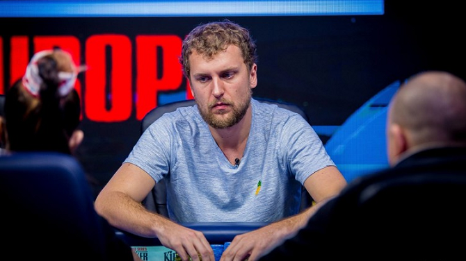 WSOPE Main Event Ryan Riess