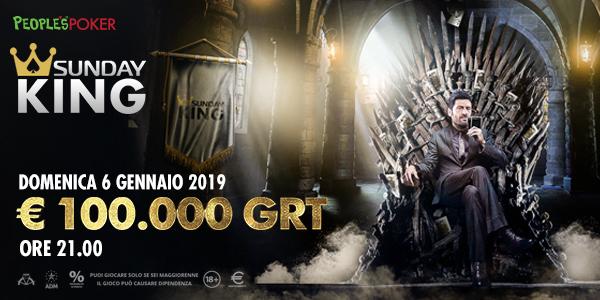 Sunday King da 100.000€
