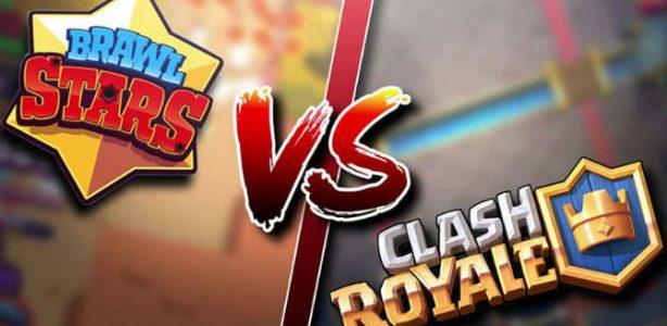 Brawl Stars vs Clash Royale