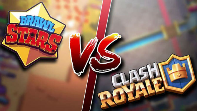 Brawl Stars vs Clash Royale
