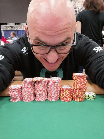 WSOP 2019 Claudio Poggi Big 50