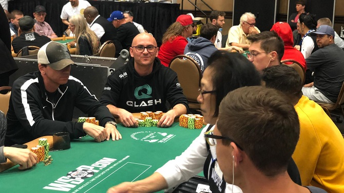 Claudio Poggi Big 50 WSOP 2019 Day 3