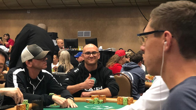 Claudio Poggi Big 50 WSOP 2019