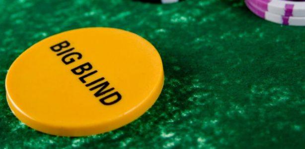 pokerstars big blind