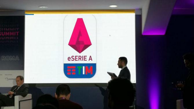Il logo della eSerie A