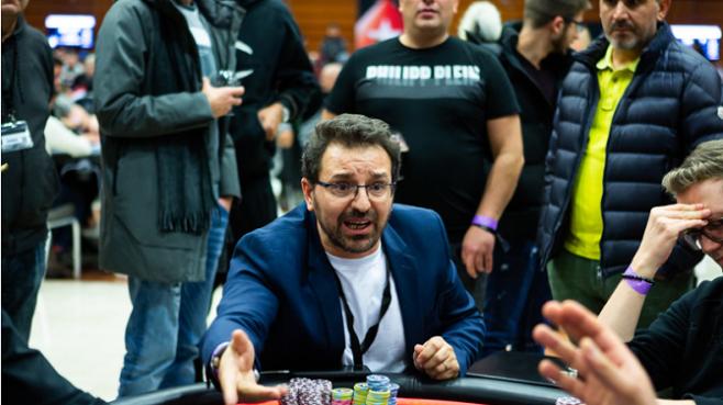 EPT Praga Main Event Giuseppe Zarbo