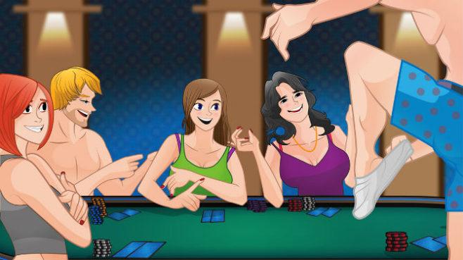 Strip poker online