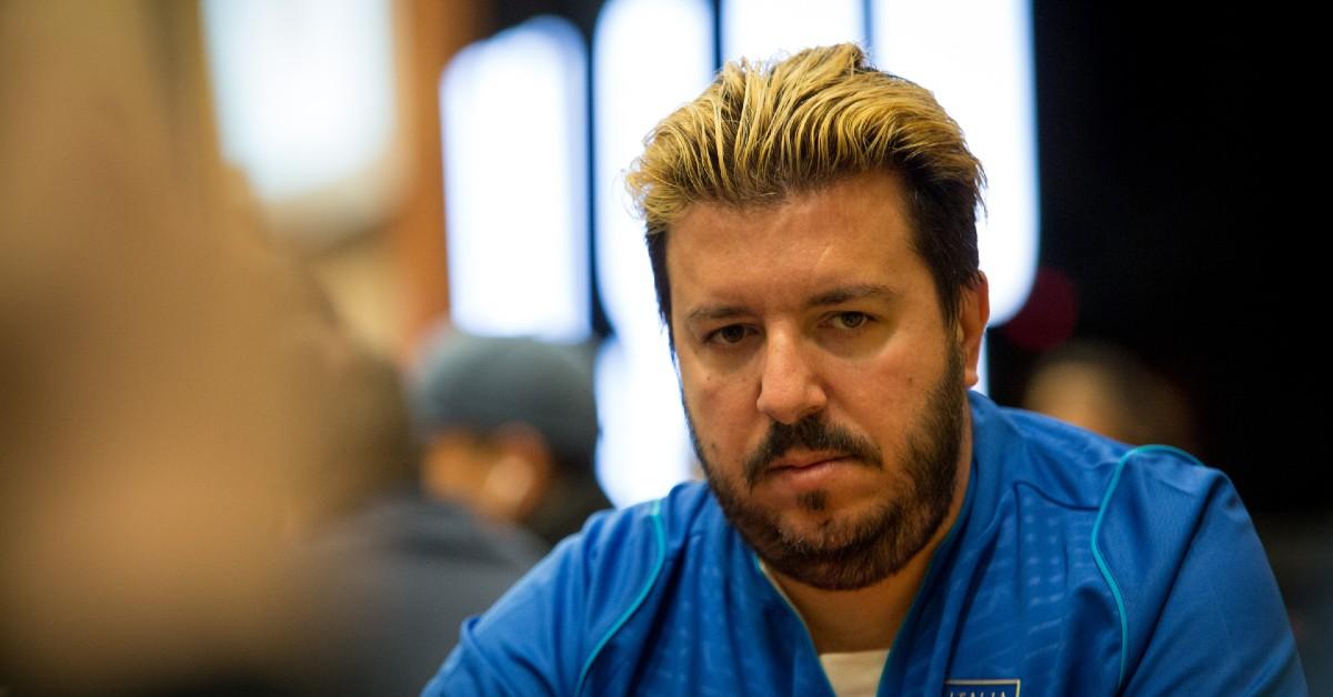 Max Pescatori braccialetto WSOP