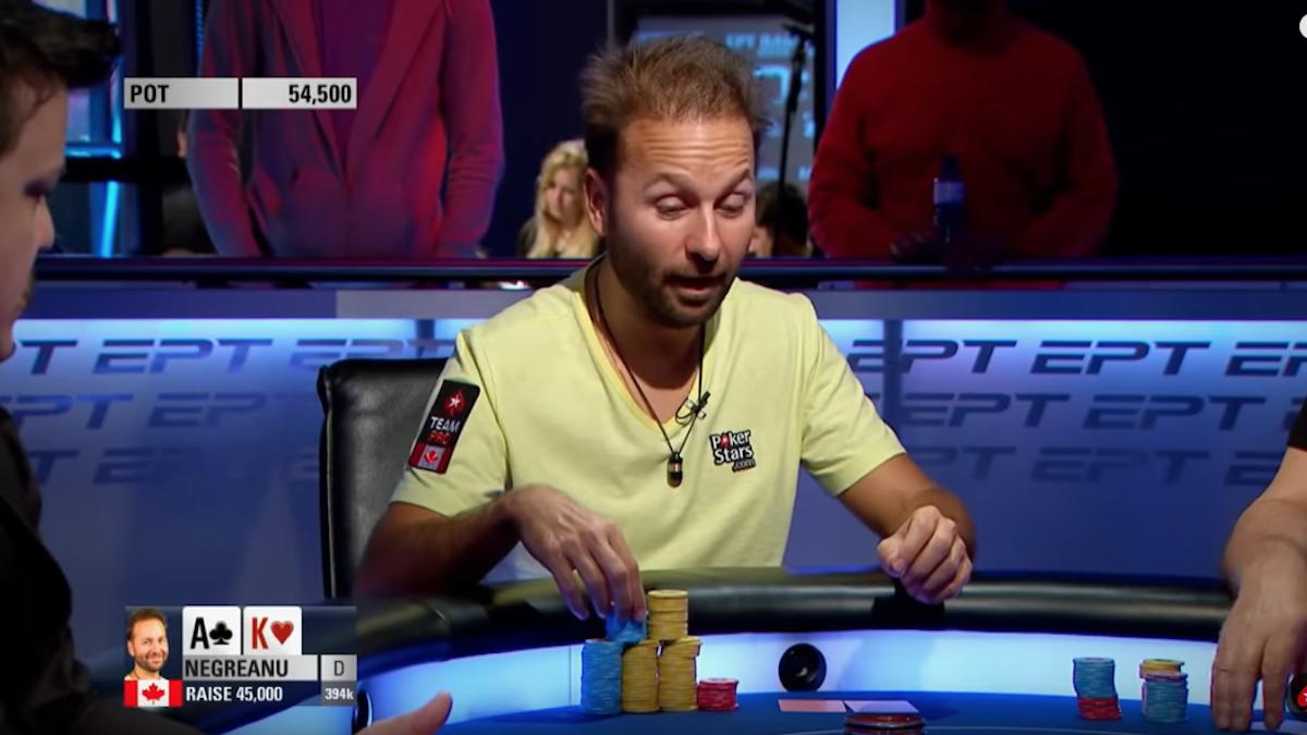 Errori al tavolo da poker
