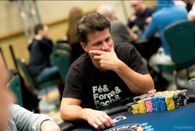 Leonardo Pires Pic courtesy PokerNews