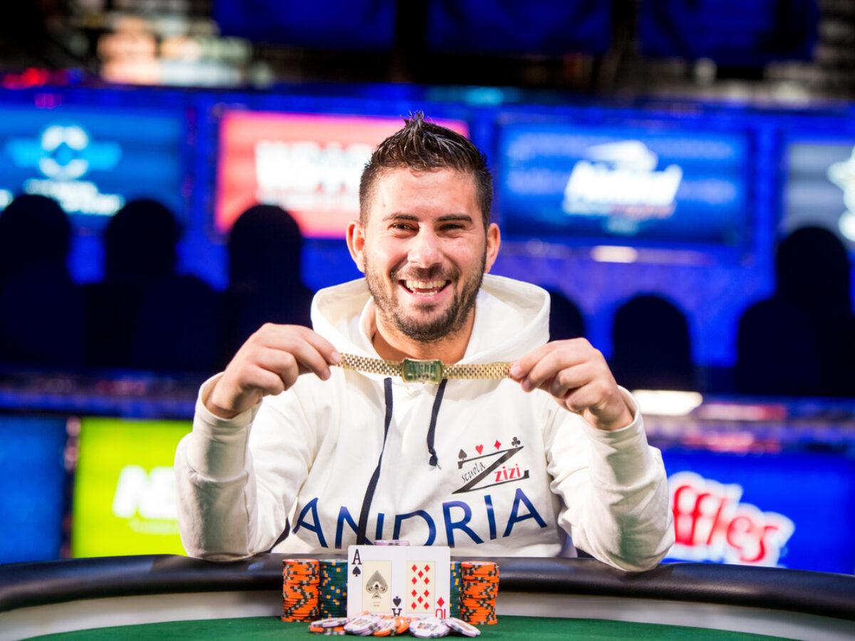 Davide 'zizinho' Suriano braccialetto WSOP Heads-Up