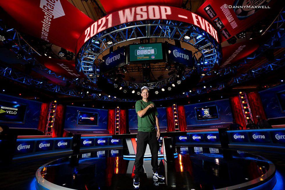 John Monnette (courtesy of Danny Maxwell - Pokernews)