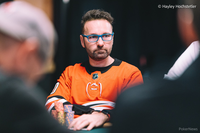 Daniel Negreanu Courtesy Pokernews & Hayley Hochstetler