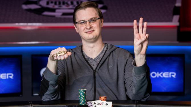 Kevin Gerhart Courtesy Pokernews & Hayley Hochstetler
