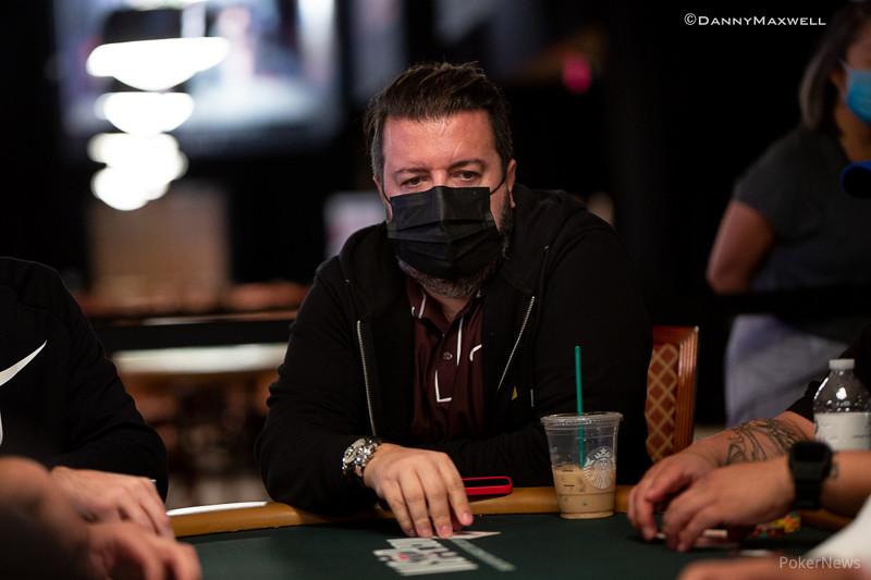 Max Pescatori Courtesy Pokernews & Danny Maxwell