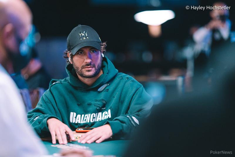 Dario Sammartino (courtesy of Hayley Hochstetler - PokerNews)