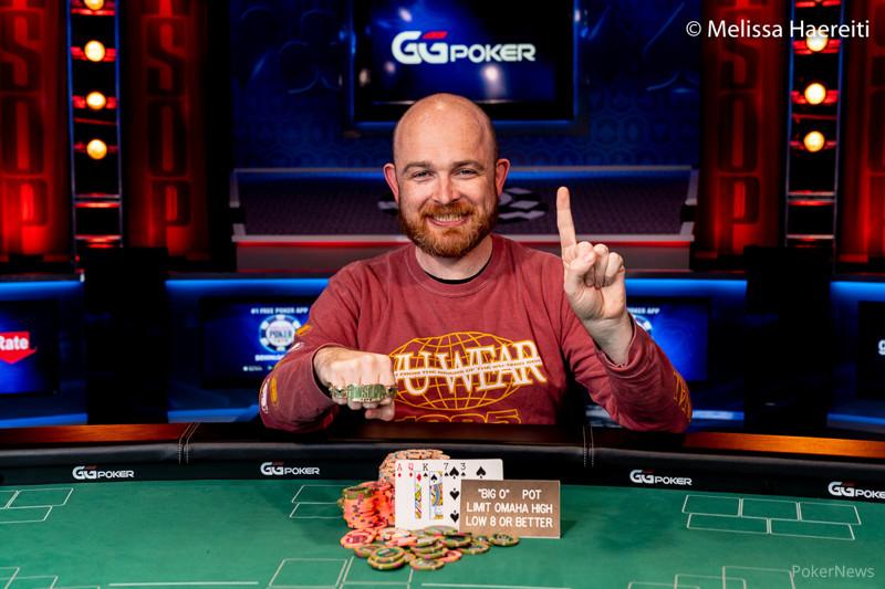 Dylan Linde (courtesy of Melissa Haereiti - PokerNews)