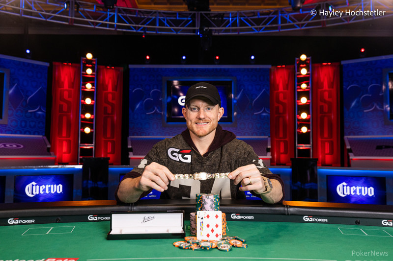Jason Koon (courtesy of Hayley Hochstetler - Pokernews)