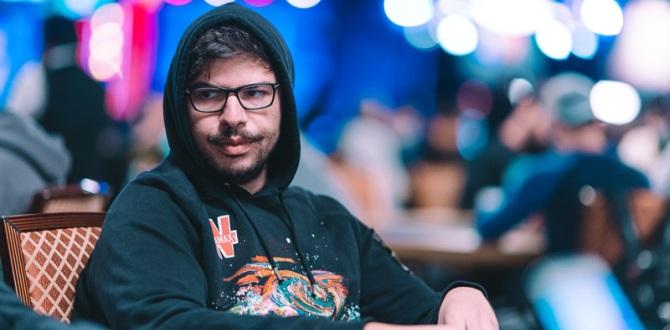 Mustapha Kanit (Courtesy of Hayley Hochstetler - PokerNews)