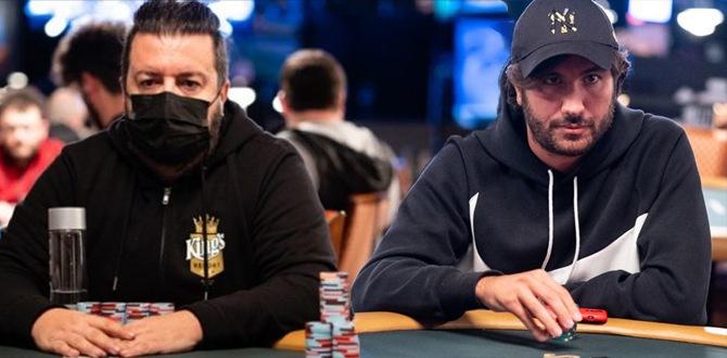 Max Pescatori e Dario Sammartino (Courtesy PokerNews)